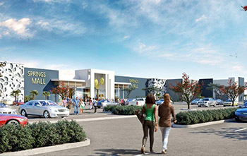 Construction underway on R950 million Springs Mall at Blue Crane Eco Park